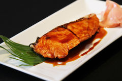 Grill salmon Royalty Free Stock Photography