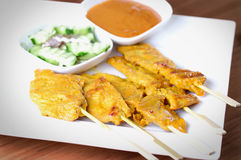 Grill satay Royalty Free Stock Photography