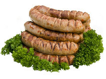 Grill sausage Royalty Free Stock Image