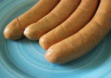 Grill-sausage Royalty Free Stock Photos