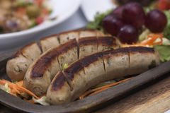 Grill Sausage Royalty Free Stock Photo