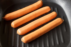 Grill sausages Royalty Free Stock Photo