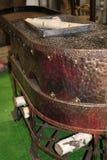 Grill schmiedete Stahl Lizenzfreies Stockfoto