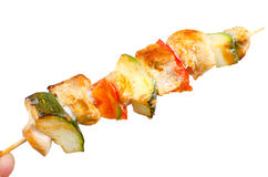 Grill skewers Royalty Free Stock Images