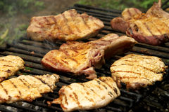 Grill steak Stock Photography