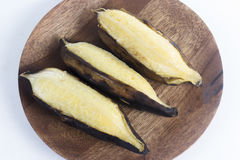 Grill Thai Banana Royalty Free Stock Images