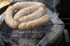 Grill Thai sausage Northeastern style Stock Photo