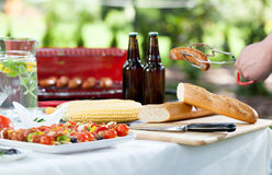 Grill time Royalty Free Stock Photography