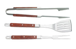 Grill Utensils Stock Photography