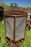 Grill van een oude Wallis tractor Royalty-vrije Stock Foto's