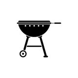 Grill vector icon stock illustration