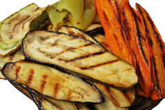 Grill vegetables Royalty Free Stock Photos