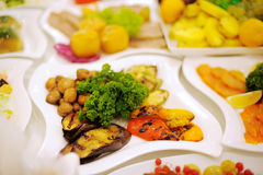 Grill Vegetables Royalty Free Stock Photography
