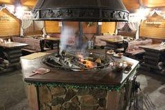 Grill w w centrum kawiarni Zdjęcie Stock