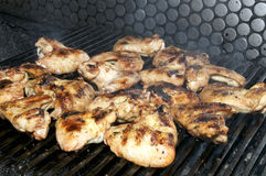 Grill the wings Stock Photography