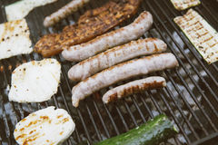 Grill wołowina i mięso Zdjęcie Royalty Free