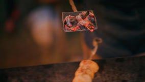 Grill z kukurudzą zdjęcie wideo