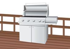 grill ze stali nierdzewnej ilustracji