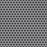 Grill-Zusammenfassungshintergrund des Vektors metallischer stock abbildung