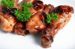 grilla chińczyków drumstick kurczaka Zdjęcie Stock