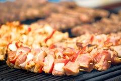 grilla grill Obraz Royalty Free