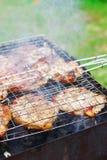 grilla grill Zdjęcia Stock