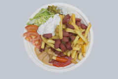 Grilla jedzenie Obrazy Royalty Free