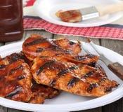 grilla kurczaka posiłek Zdjęcie Royalty Free