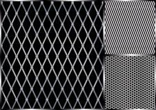grilla metalu bezszwowy wektor ilustracji