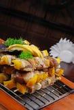 grilla mięso Zdjęcie Stock