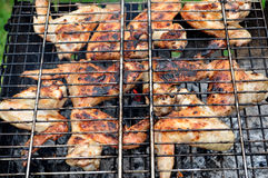 grilla mięso Obraz Royalty Free