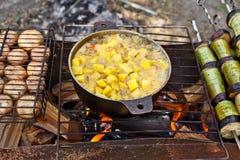 grilla warzywo Obraz Royalty Free