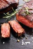 Grilla ziobro oka stek lub kuperu stek - Suszy Starzejącego się Wagyu antrykot zdjęcia stock