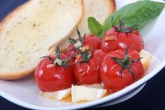Grillad antipasto för körsbärsröd tomat Royaltyfri Bild