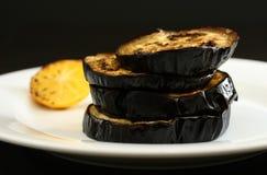 grillad aubergine Royaltyfri Foto