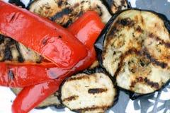 grillad aubergineaubergine Royaltyfri Foto