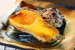 Grillad butternutsquash Royaltyfri Fotografi