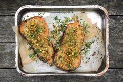 Grillad butternutsquash Royaltyfria Bilder