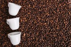 Grillad Coffe böna, trevlig textur Arkivfoto