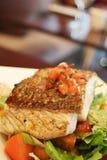 grillad fisk Royaltyfri Fotografi