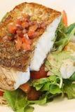 grillad fisk Arkivbild