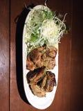 Grillad höna, Okinawa stil Royaltyfria Foton