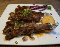 grillad lamb Royaltyfri Fotografi