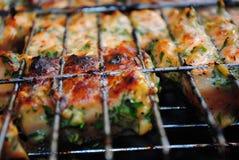 grillad lax Royaltyfria Bilder