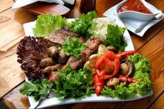 grillad meat Royaltyfri Bild
