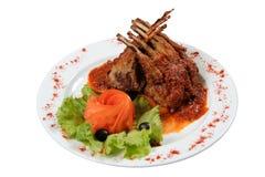 grillad meat 2 Royaltyfri Fotografi