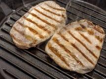 grillad meat Fotografering för Bildbyråer