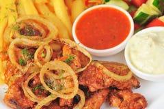 grillad meatlök Royaltyfri Bild