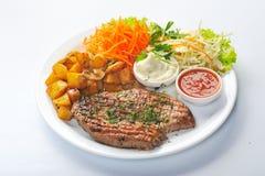 grillad meatplatta Fotografering för Bildbyråer