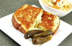 grillad ost Royaltyfria Bilder